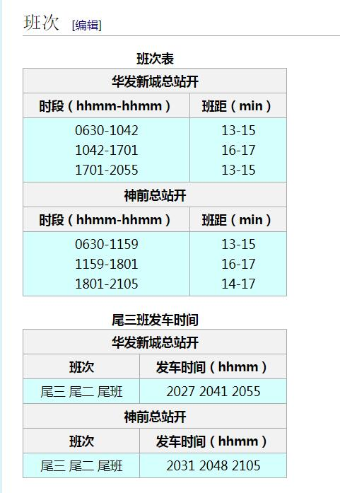 "《ZBC WIKI ※ 巴士线路词条加入""尾三班""信息》"